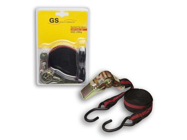 GS Spanband met ratel en haken 5 mtr