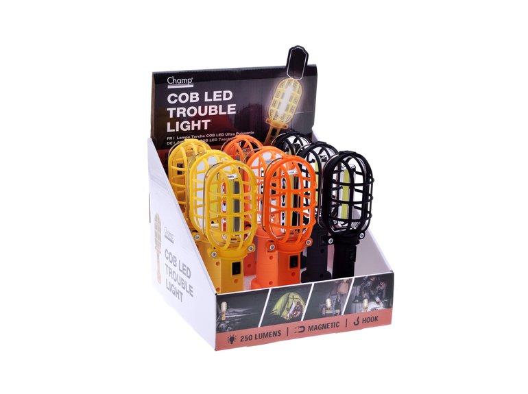 LED-lamp korf met magneet en haak