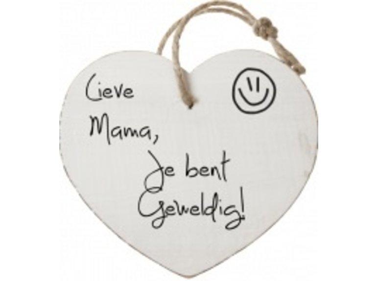 HW Lieve mama, je bent geweldig