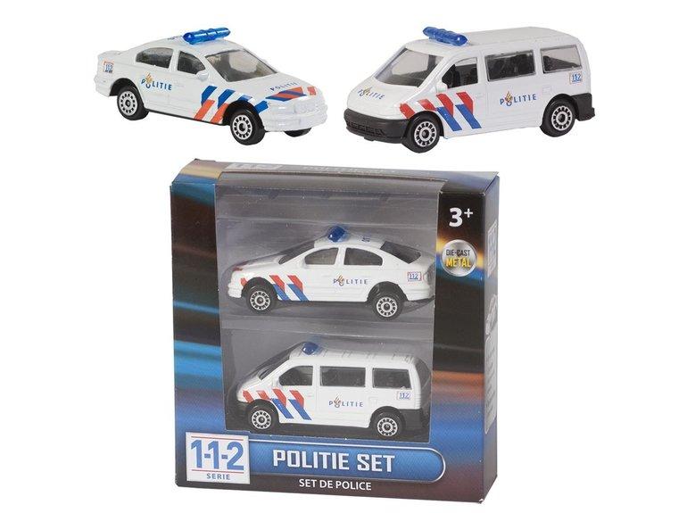 Speelgoed 112 Politie Set 2 Dlg.