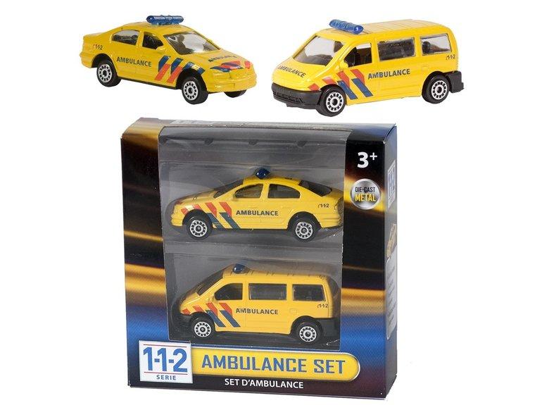 Speelgoed 112 Ambulance Set 2 Dlg.