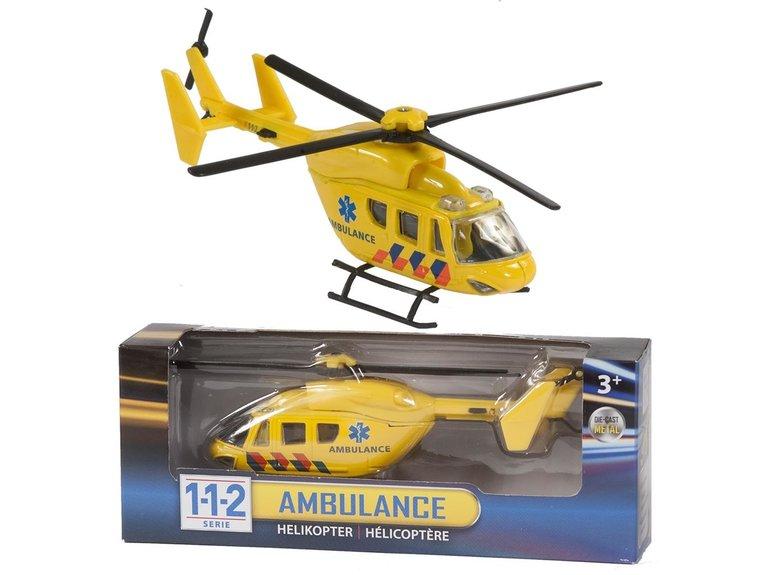 Speelgoed 112 Ambulance Helicopter 1:43