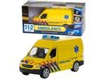 Speelgoed 112 Ambulance+licht/gel. 1:43