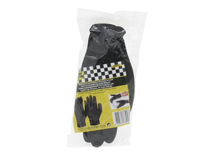 Benson Werkhandschoen L (maat 9) PU Flex nylon