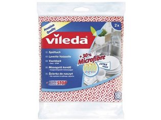 Vaatdoek + 30% microvezel 2-pack