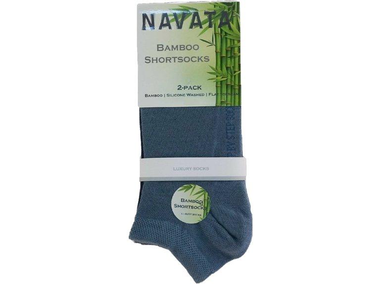 Navata Bamboo short sock jeans 2P 35-38