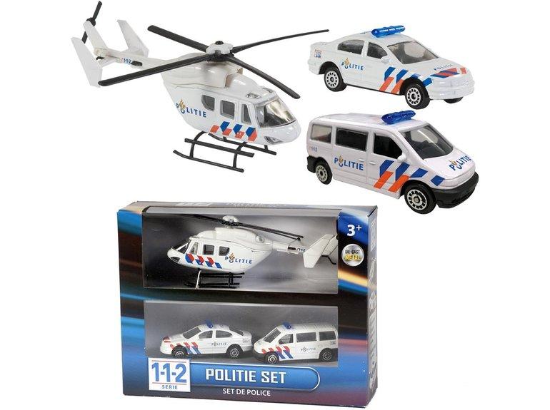 Speelgoed 112 Politie Speelset 3 Dlg.