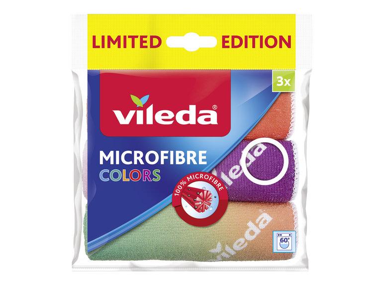 Vileda Microvezeldoek Colors Design 3-pack 30x30cm