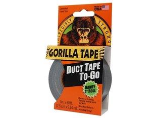 Gorilla 25mm x 9mtr zwart