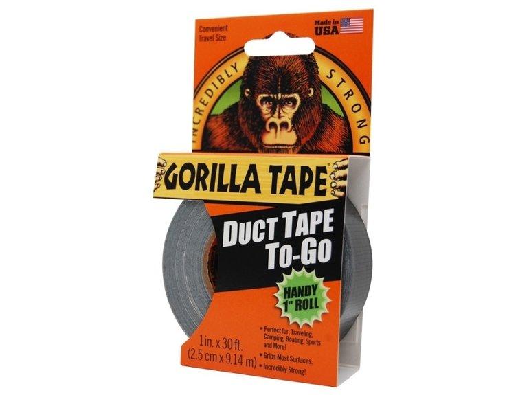 Gorilla Gorilla 25mm x 9mtr zwart
