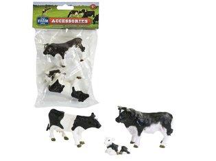 Dutch Farm Serie Koeienset met stier, koe en kalf
