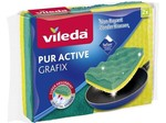Vileda Schuurspons PUR ACTIVE Grafix 2Pk