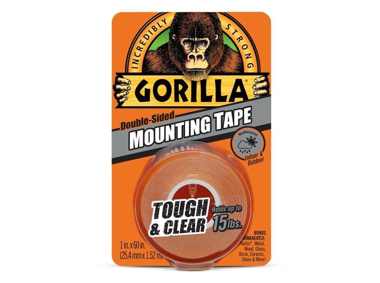 Gorilla Gorilla dubbelz.tape glashelder