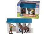 Speelgoed Dutch Farm Serie Paarden Stal