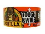 Gorilla Gorilla 73mm x 27mtr zwart T&W