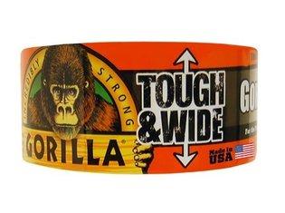 Gorilla 73mm x 27mtr zwart T&W