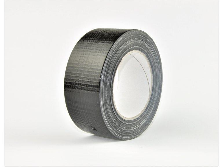 Verlofix Ducttape zwart 50mm x 50mtr