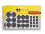 GS Anti-krasvilt 27-delig grijs
