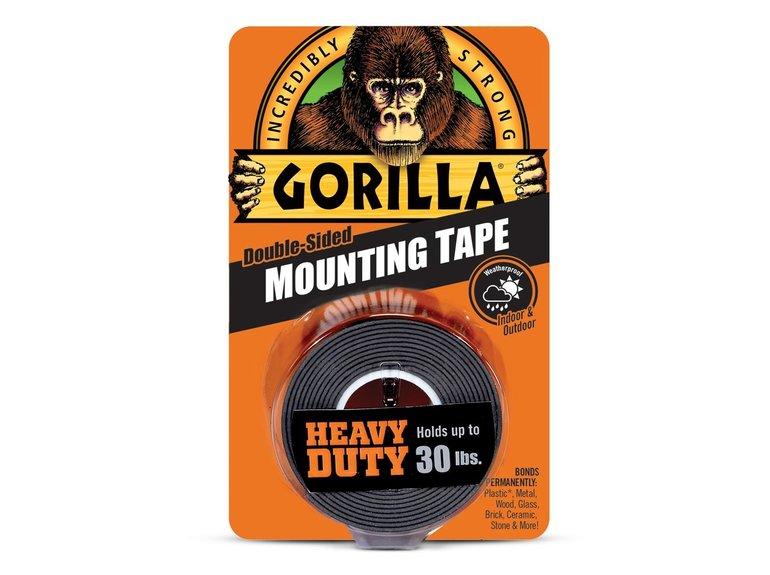 Gorilla Gorilla dubbelz.tape zwart Extra