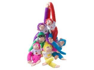 Rainbow Monkeys 6 Ass.
