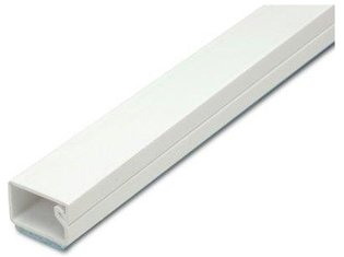 Deksel kabelgoot wit 17x17mm