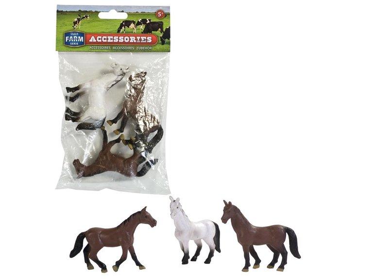Dutch Farm Serie set met Paarden