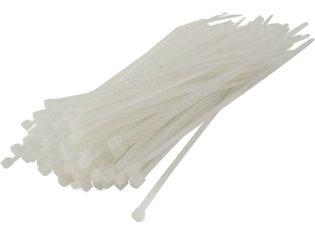 Tie wrap 3,6x150mm 100 stuks wit