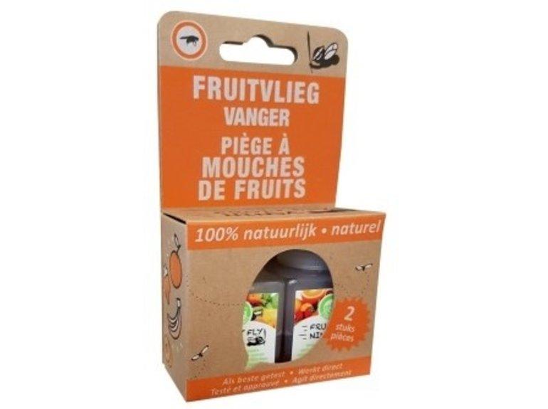 Super Ninja Fruitvliegvanger Ninja 2-pack