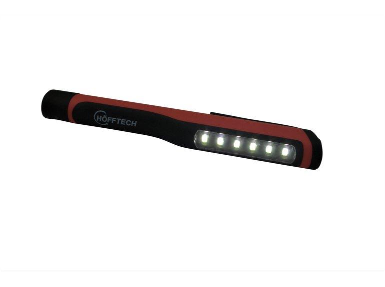 Hofftech Zaklamp 6+1 LED + magneet