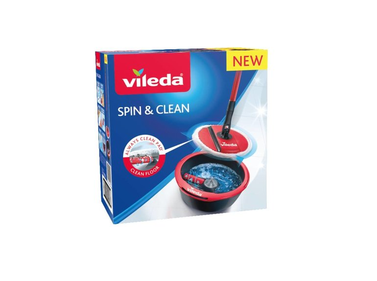 Vileda Spin & Clean systeem