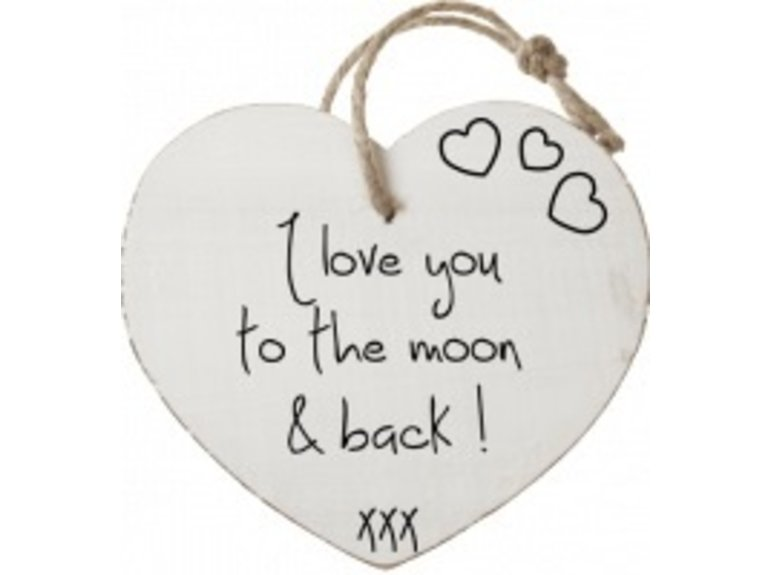 HW I love you to the moon & back