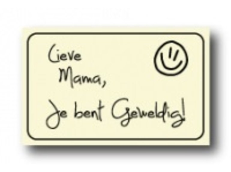 WKK Lieve mama, je bent geweldig