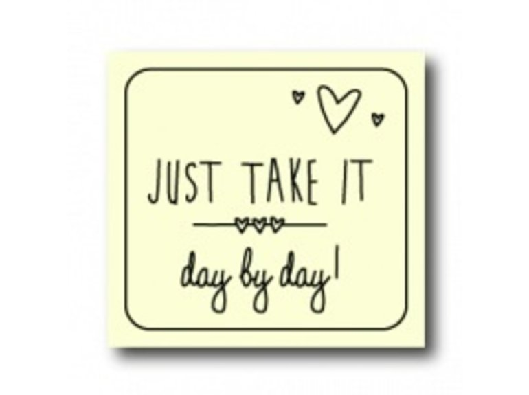 WKG Just take it day by day