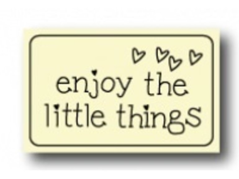WKK Enjoy the little things