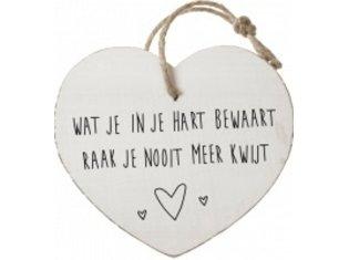 HW Wat je in je hart bewaart…..
