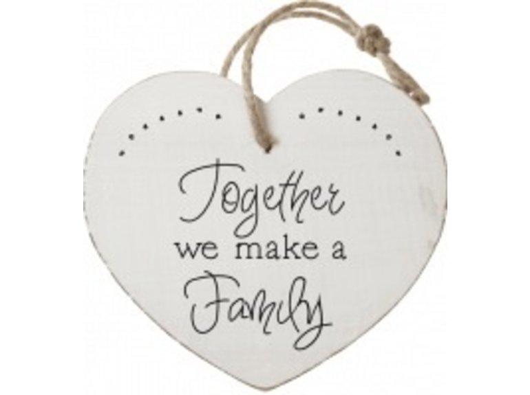 HW Together we make a family