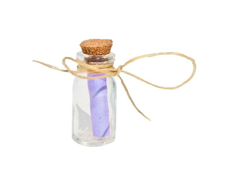 Flessenpost / message in a bottle