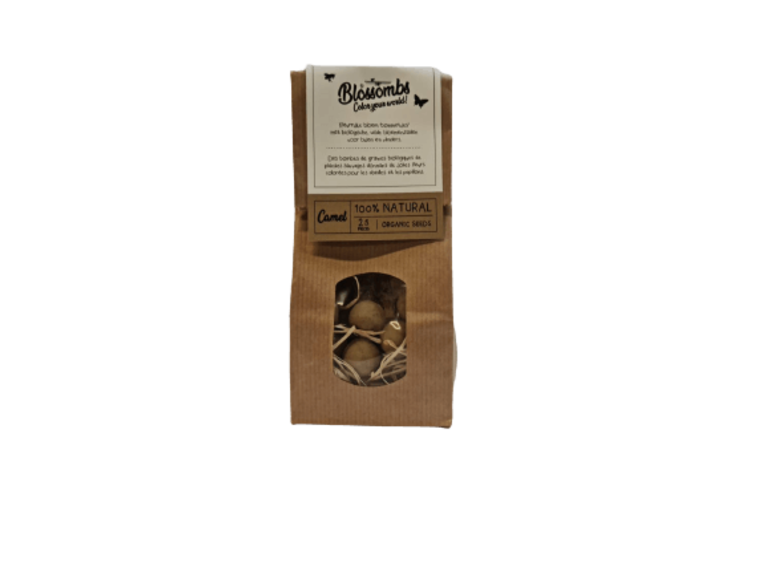Blossombs Blossombs Kraft Bag 25 - Camel