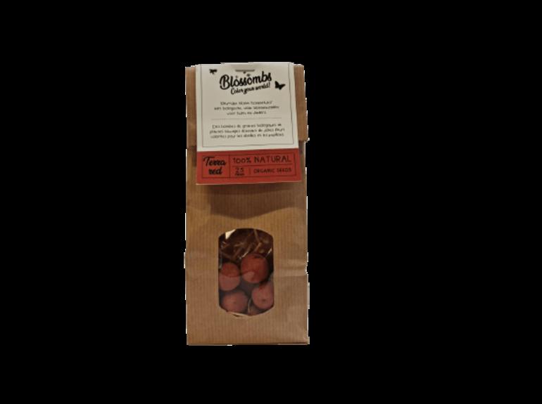 Blossombs Blossombs Kraft Bag 25 - Terra Red