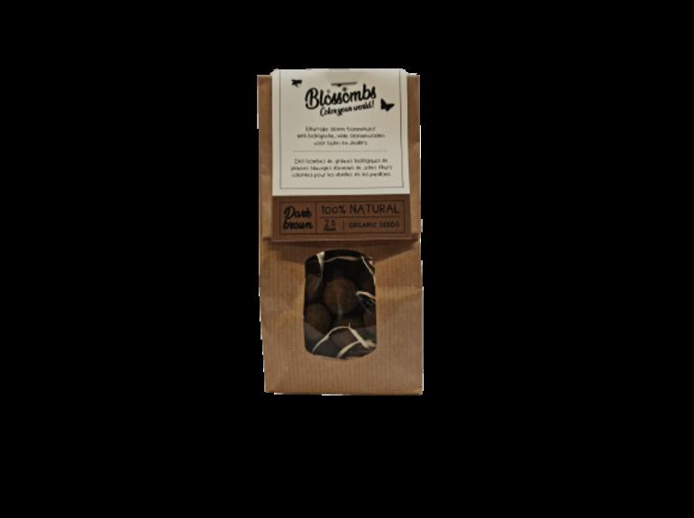 Blossombs Blossombs Kraft Bag 25 - Dark Brown