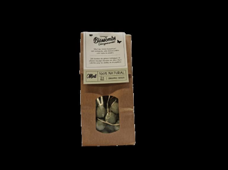 Blossombs Blossombs Kraft Bag 25 - Mint