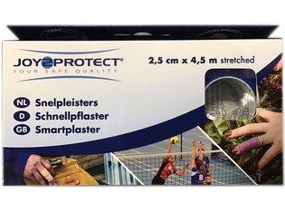 Snelpleister Blauw 2,5cmx4,5mtr