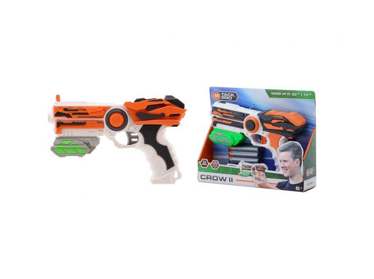 Speelgoed Tack Pro® Crow II met 6 darts, 23 cm