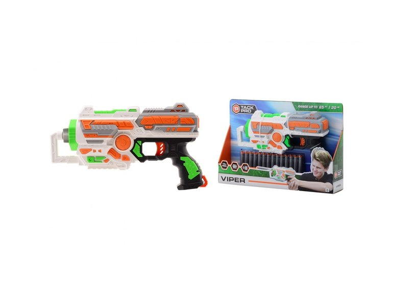 Speelgoed Tack Pro® Viper met 14 darts, 30 cm