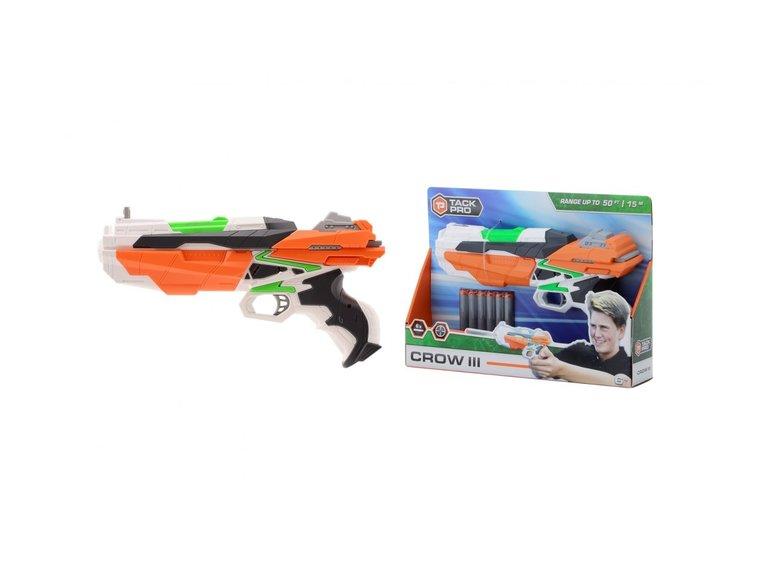 Speelgoed Tack Pro® Crow III met 6 darts, 29 cm