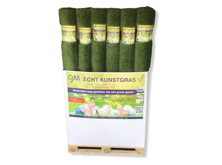 QM QM Echt Kunstgras 30mm 200x300 cm