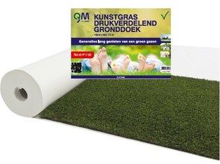 QM Kunstgras Drukverdelend gronddoek 2,10mtr breed, 50mtr la
