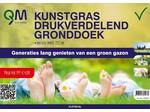 QM QM Kunstgras Drukverdelend gronddoek 2,10mtr breed, 50mtr la