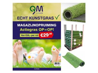 QM Kunstgras Actiegras - 29,95