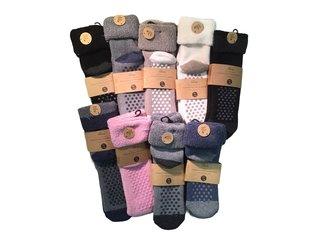 Huissok Ladies Cosy assorti kleuren 35-42 assortie kleuren 1